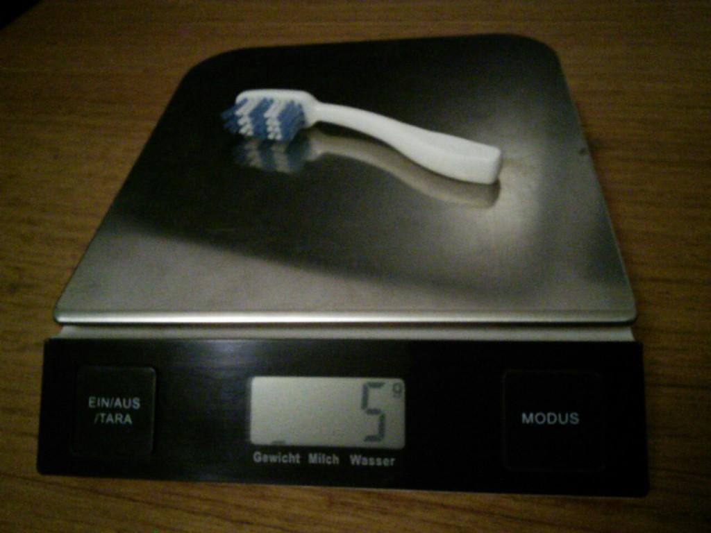 ultraleichte Zahnbürste von Norweger
