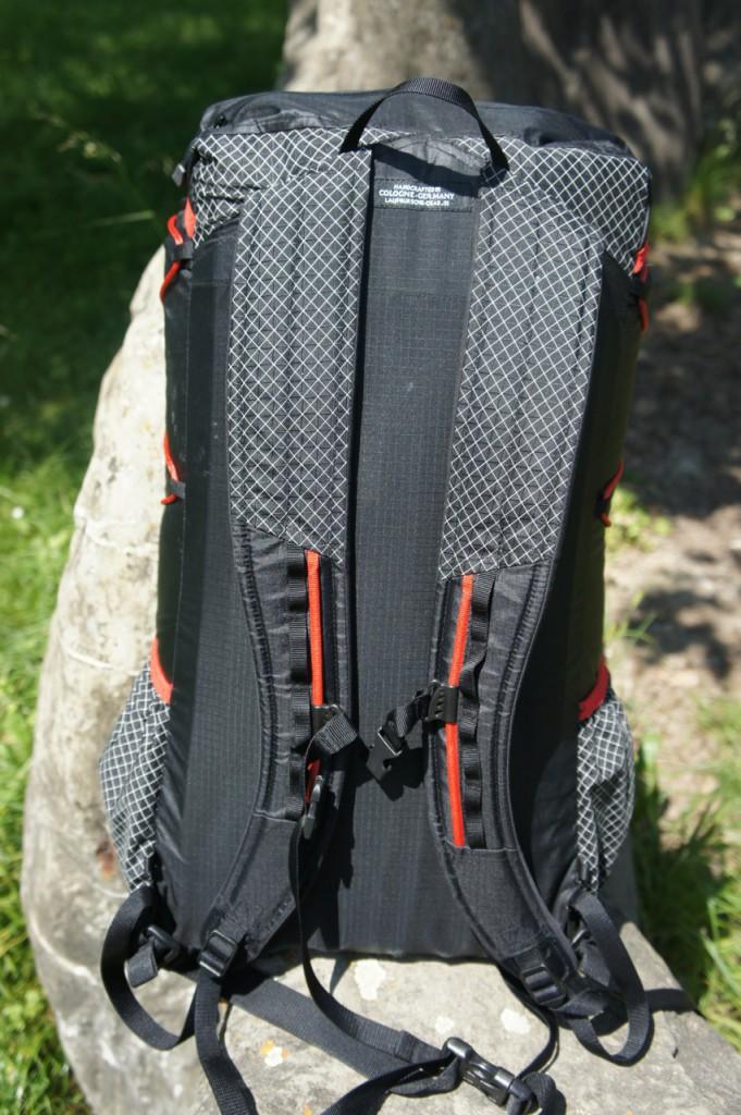 Schultergurte Laufbursche Packraum