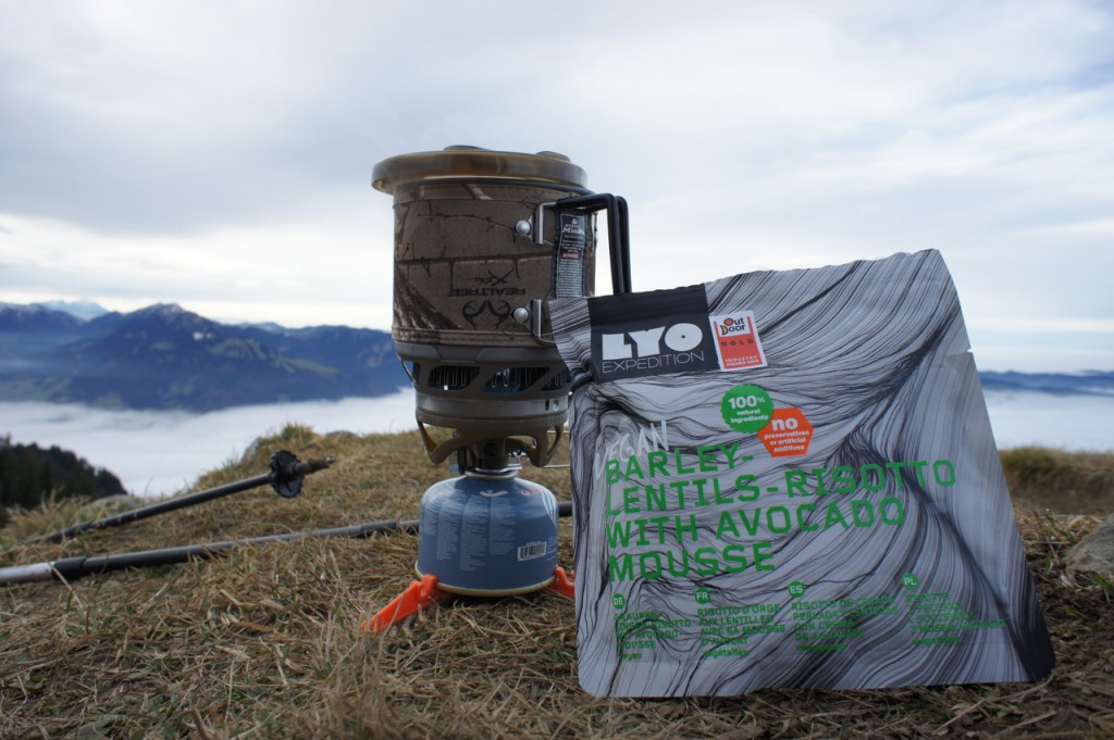 Jetboil Minimo on tour