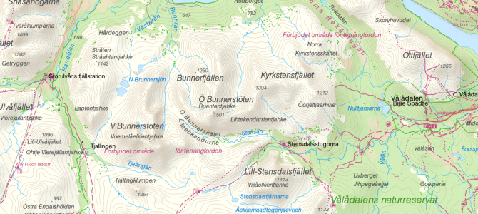 Von Storulvån nach Vålådalen – Mit JOE auf Fjellski