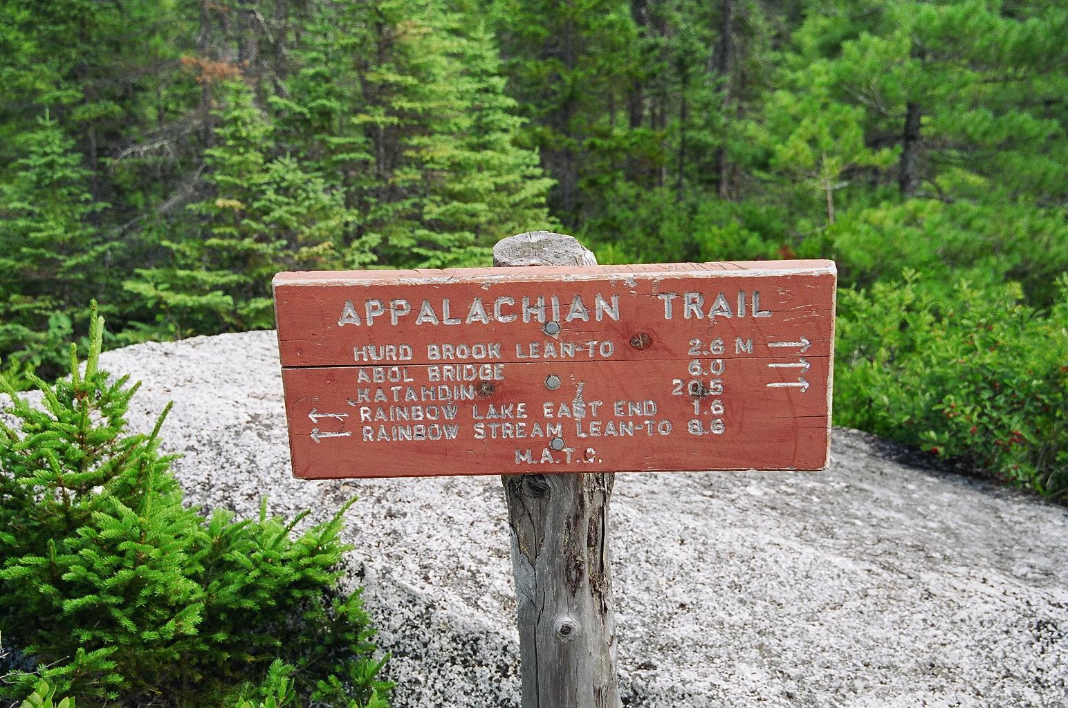 Appalachian_Trail_Schild