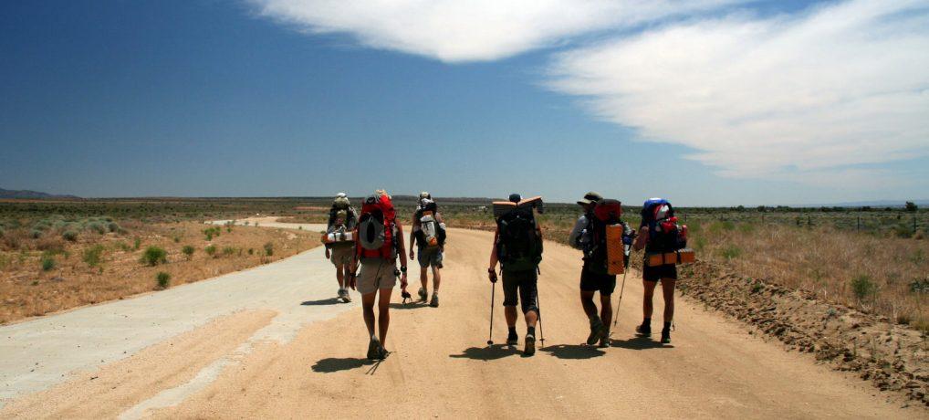 Wieviel Wasser muss man auf dem Pacific Crest Trail tragen?