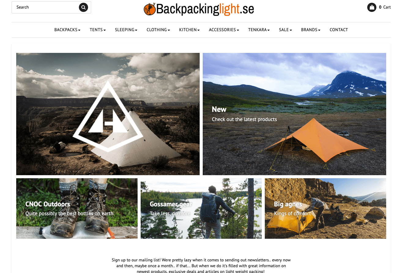 Backpackinglight.se