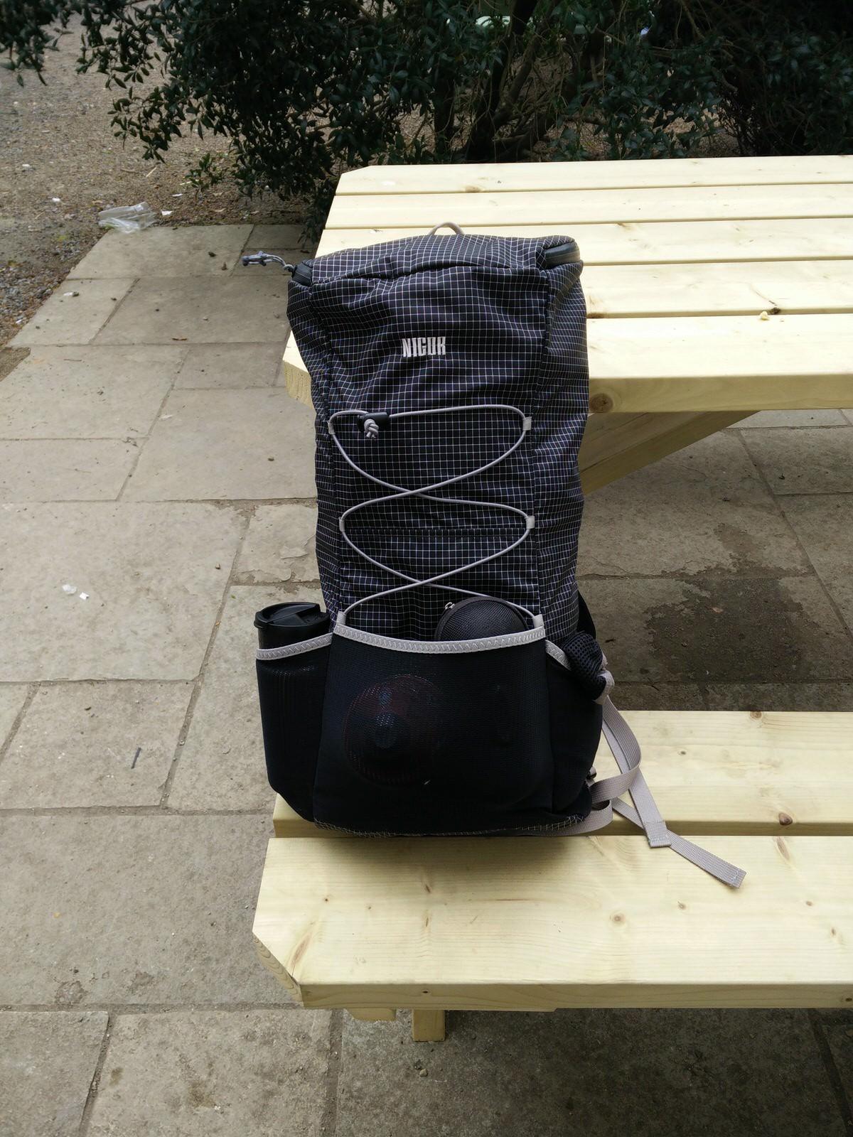 Ultraleicht Rucksack auf dem Wicklow Way