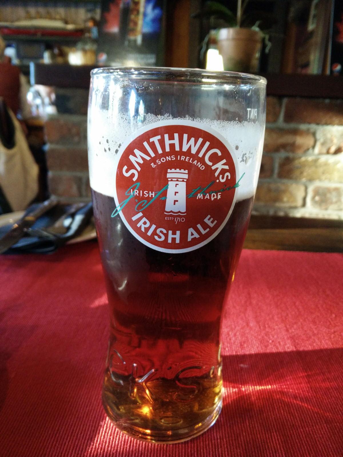 ein Pint in Irland